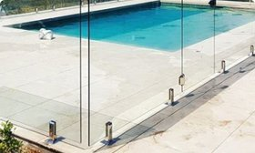 Frameless Glass Core Drilled DIY Installation Guide