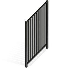 Flat-Top Aluminium Gate